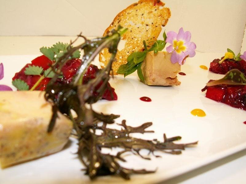 La carte du restaurant de Gilles Moreau de Laguiole - Aveyron - gilles-moreau