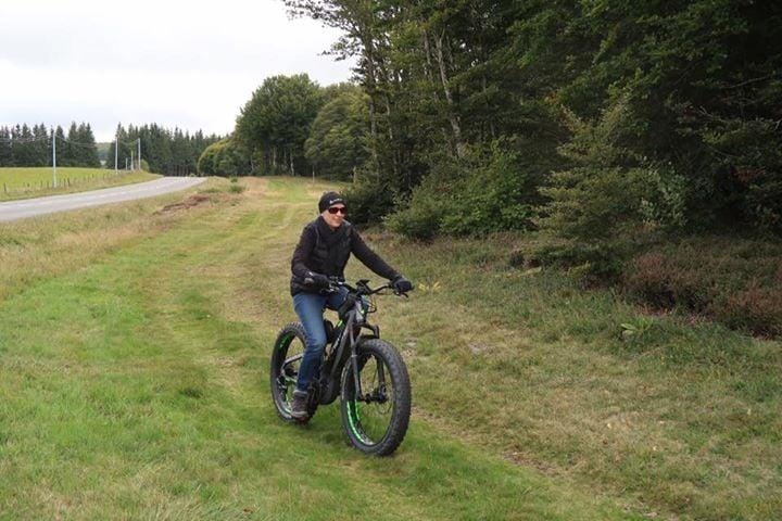 Test en famille du premier fat Bike...