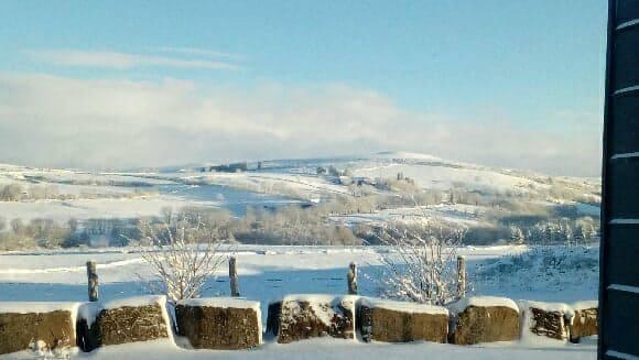L'hiver s'installe sur l'Aubrac et ...