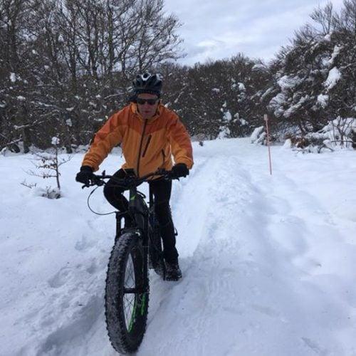 A la  Station de Ski de Laguiole on…