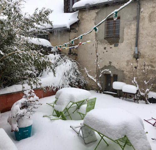 De la neige encore et encore, de bo…