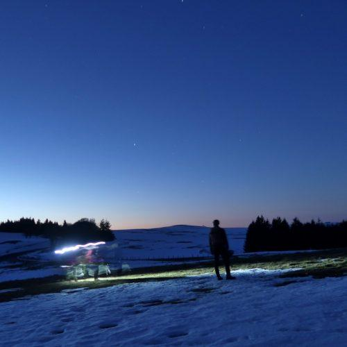 Nuit en Aubrac …. Nature Occitane…