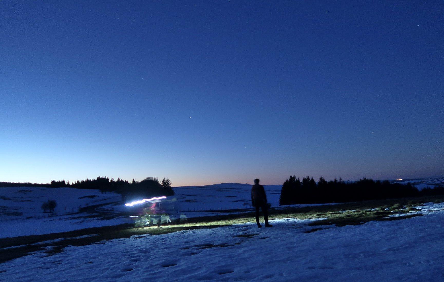Nuit en Aubrac .... Nature Occitane...