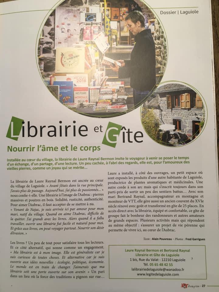 Super article sur ECHO'Aveyron !