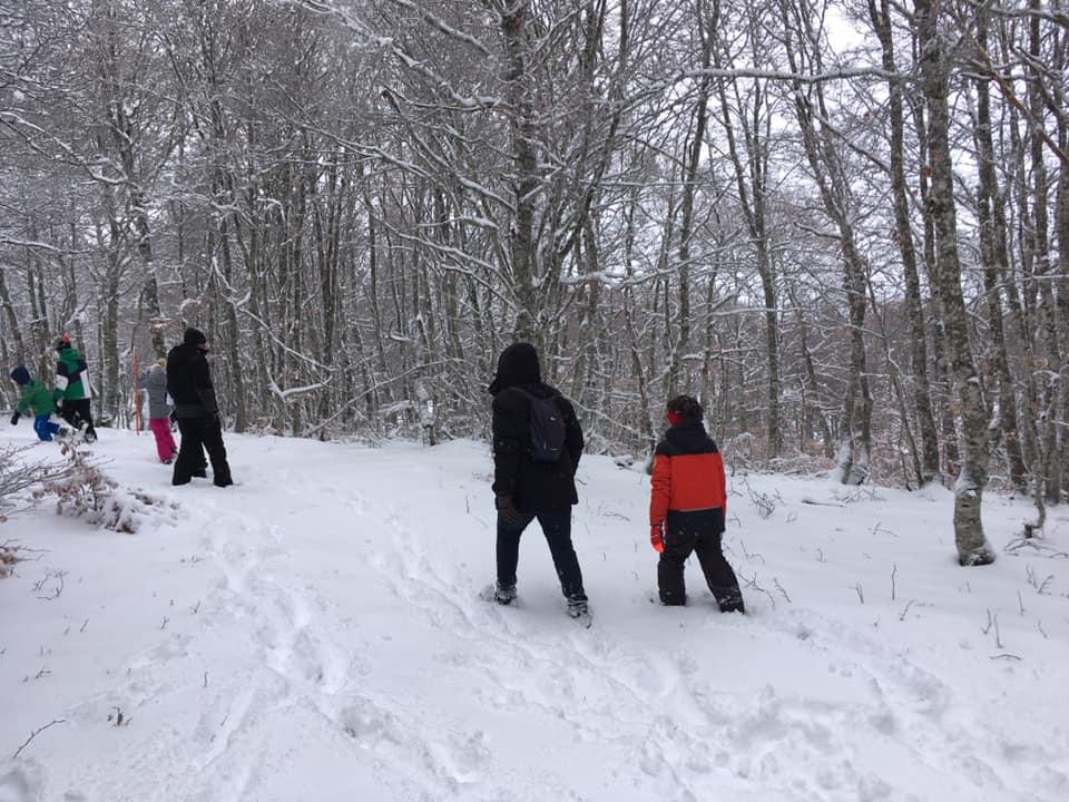 Rando accompagné sur la neige