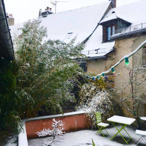 Enfin de la neige