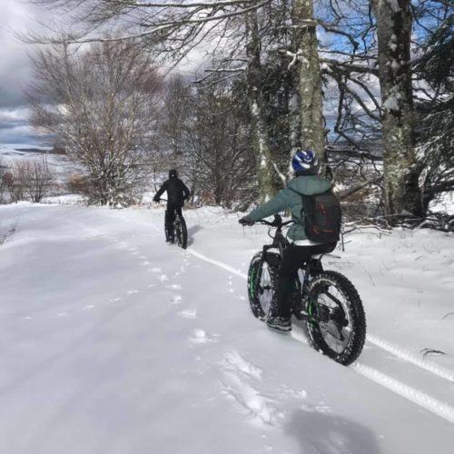 Rando fat Bike sur la Neige !!! Dep…