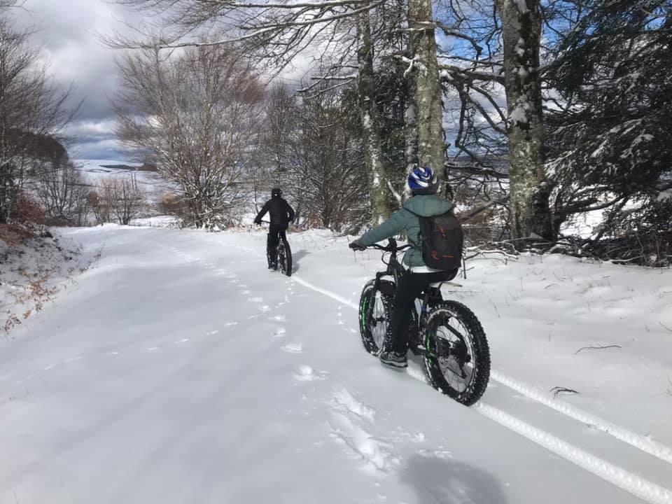 Rando fat Bike sur la Neige !!! Dep...