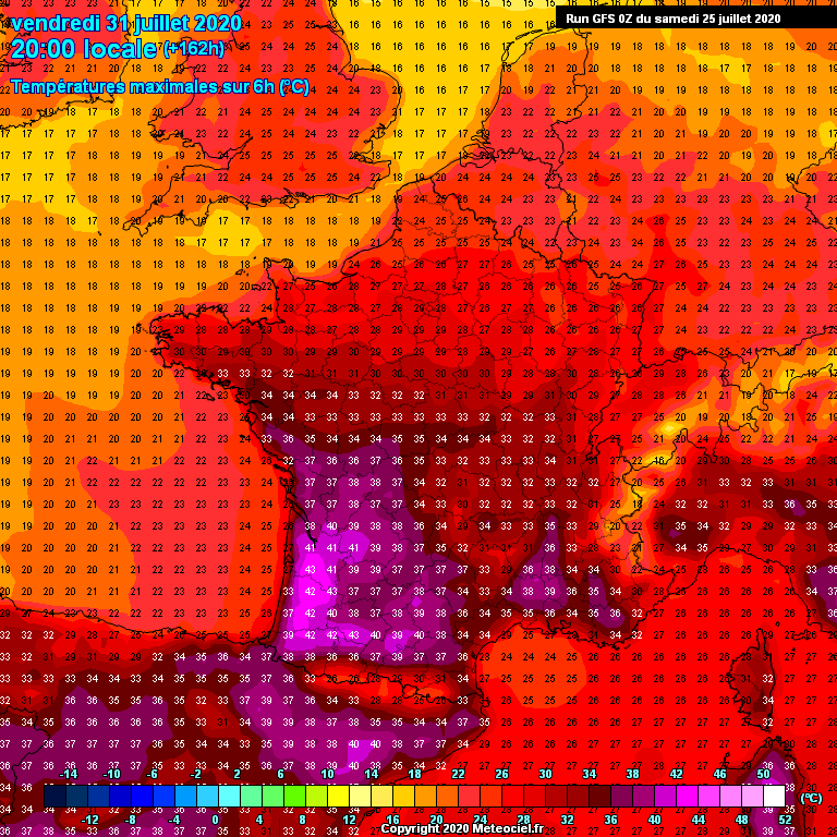 Attention : possible canicule fin juillet et début août sur la France